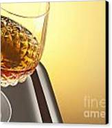 Whiskey In Stem Glass Canvas Print by Blink Images