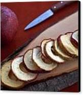 Apple Chips Canvas Print by Joana Kruse