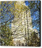 Cathedral Of Learning Canvas Print by Thomas R Fletcher