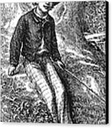 Clemens: Tom Sawyer Canvas Print by Granger