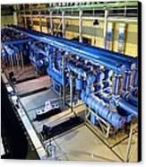 Electricity Substation Canvas Print by Ria Novosti