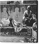 Harem Canvas Print by Granger