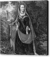 Mary Queen Of Scots Canvas Print by Photo Researchers