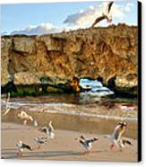 Two Rocks Wa Canvas Print by Imagevixen Photography