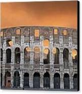 Colosseum. Rome Canvas Print by Bernard Jaubert