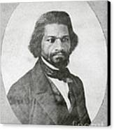 Frederick Douglass, African-american Canvas Print by Photo Researchers