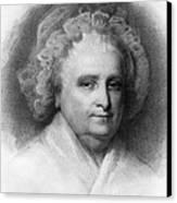 Martha Washington, American Patriot Canvas Print by Photo Researchers