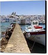 Paros - Cyclades - Greece Canvas Print by Joana Kruse