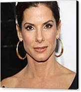 Sandra Bullock At Arrivals For The Canvas Print by Everett