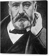 Victor Hugo, French Author Canvas Print by Photo Researchers
