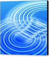 Water Ripples Canvas Print by Pasieka