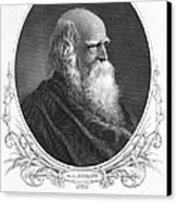 William Cullen Bryant Canvas Print by Granger