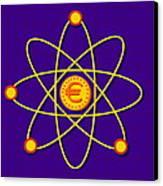 Atomic Structure Canvas Print by David Nicholls
