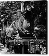 Climax Geared Locomotive Canvas Print by Thomas R Fletcher