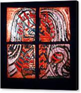 Jesus - Tile Canvas Print by Gloria Ssali