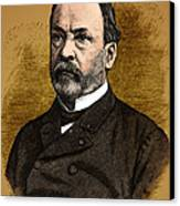 Louis Pasteur, French Chemist Canvas Print by Science Source
