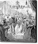 Perrault: Cinderella, 1867 Canvas Print by Granger