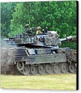 The Leopard 1a5 Main Battle Tank Canvas Print by Luc De Jaeger