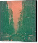 5th Avenue Canvas Print by Naxart Studio