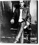Booker T. Washington 1856-1915 Canvas Print by Everett