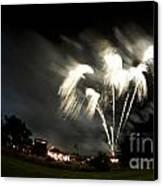 Fireworks Canvas Print by Angel  Tarantella
