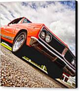 65 Chevrolet Acadian Canvas Print by Phil 'motography' Clark