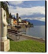 Brissago - Ticino Canvas Print by Joana Kruse