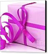 Pink Gift Canvas Print by Blink Images