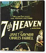 7th Heaven Canvas Print by Georgia Fowler