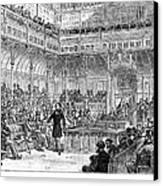 Benjamin Disraeli (1804-1881) Canvas Print by Granger