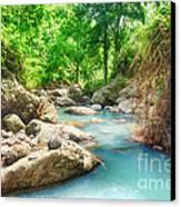Stream Canvas Print by MotHaiBaPhoto Prints
