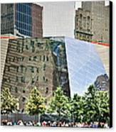 9/11 Memorial Canvas Print by Gwyn Newcombe