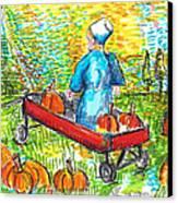 A Child's Joy  Canvas Print by Jon Baldwin  Art
