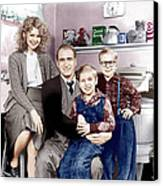 A Christmas Story, From Left Melinda Canvas Print by Everett