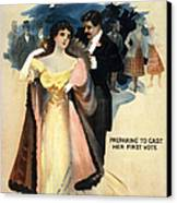 A Contented Woman, C1898 Canvas Print by Granger