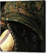 A Marines Athletic Gear Canvas Print by Stocktrek Images