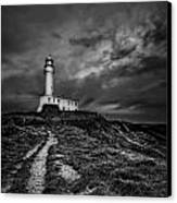 A Path To Enlightment Bw Canvas Print by Evelina Kremsdorf
