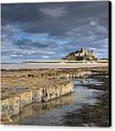 A View Of Bamburgh Castle Bamburgh Canvas Print by John Short