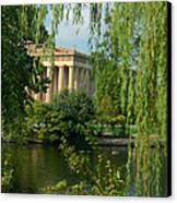 A View Of The Parthenon 8 Canvas Print by Douglas Barnett