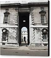 A View Of The Royal Naval College Canvas Print by Anna Villarreal Garbis