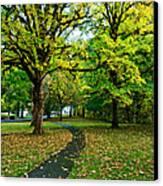A Walk In The Park Canvas Print by Dan Mihai