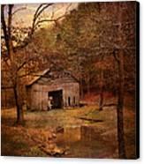 Abandoned Barn Canvas Print by Jai Johnson
