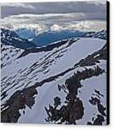 Above The Ridge Canvas Print by Mike Reid