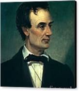 Abraham Lincoln, 16th American President Canvas Print by Photo Researchers, Inc.