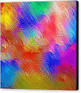 Abstract - Ripples Canvas Print by Steve Ohlsen