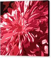 Abstract Flowers Canvas Print by Sumit Mehndiratta