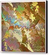 Abstract Puzzle Canvas Print by Deborah Benoit