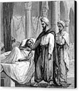 Abulcasis, Islamic Physician Canvas Print by