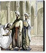 Abulcasis, Islamic Physician Canvas Print by Sheila Terry