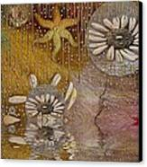After The Rain Under The Star Canvas Print by Pepita Selles